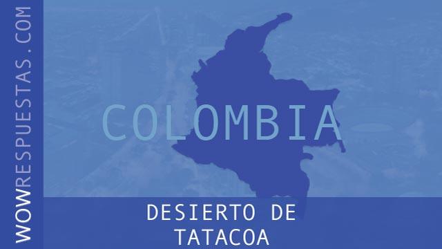 wow Desierto de Tatacoa