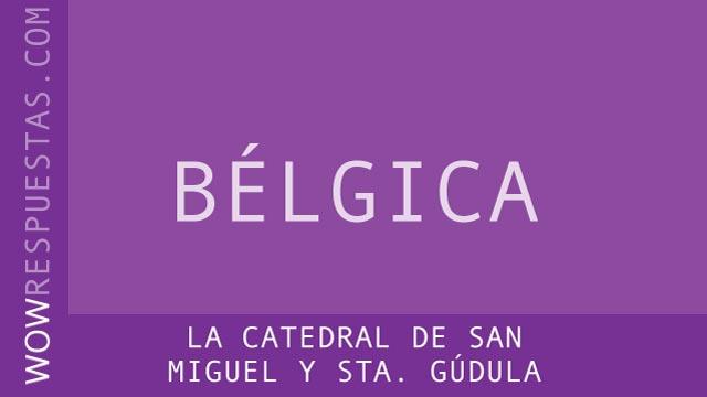 wow la catedral de San Miguel y Sta. Gúdula