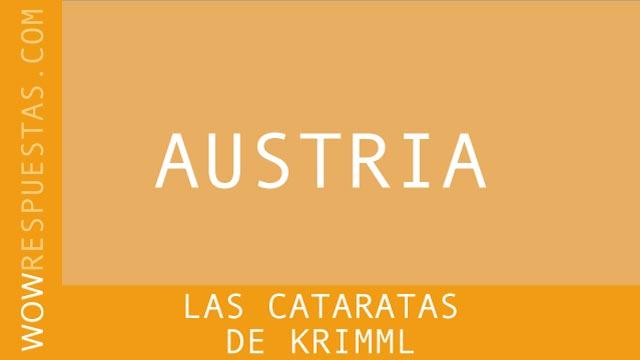 WOW Las Cataratas de Krimml