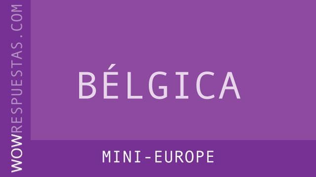 wow mini europe
