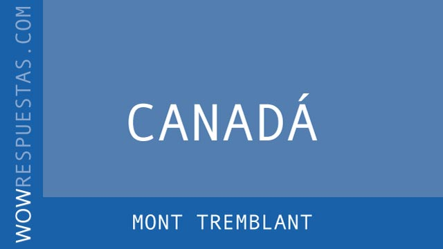 wow Mont Tremblant