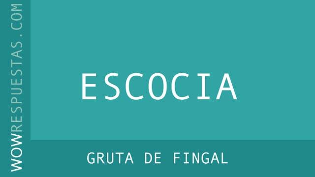 wow Gruta de Fingal