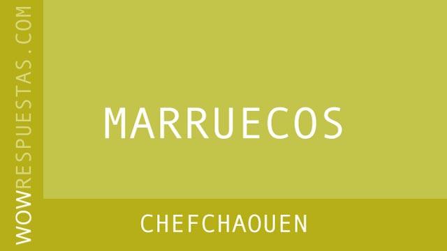 WOW Chefchaouen