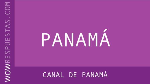 WOW Canal de Panamá