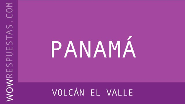 WOW Volcán El Valle