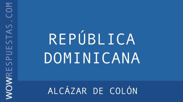 WOW Alcázar de Colón