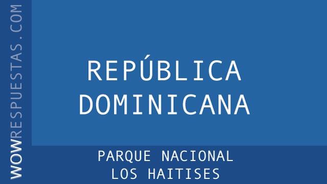 WOW Parque Nacional Los Haitises