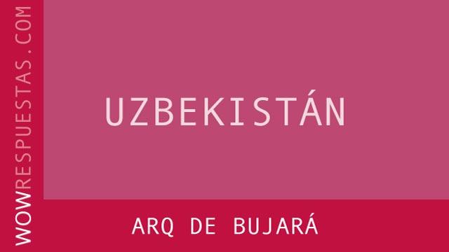 WOW Arq de Bujará