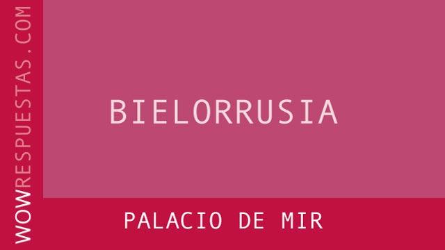 WOW Palacio de Mir
