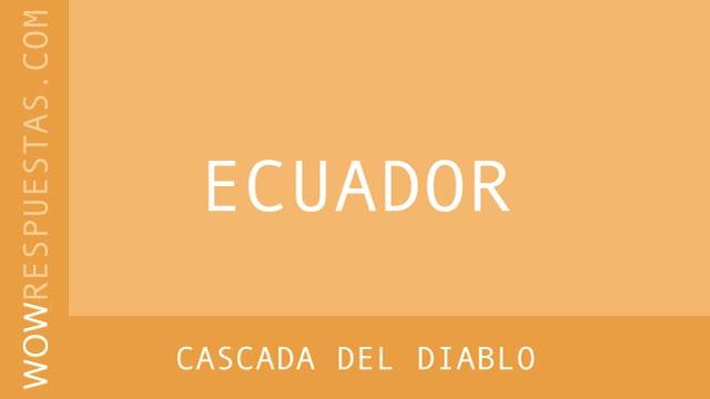 WOW Cascada del Diablo