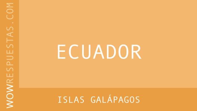 WOW Islas Galápagos