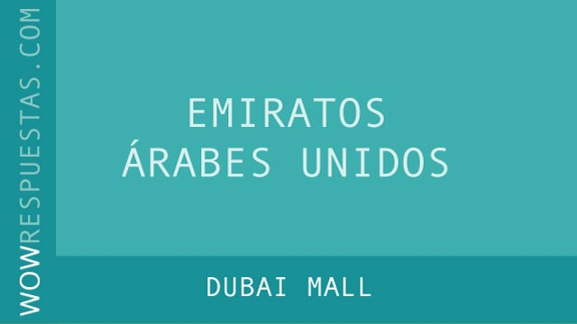 WOW Dubai Mall