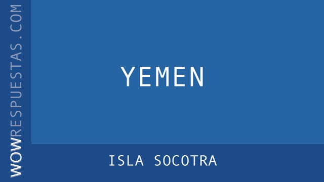 WOW Isla Socotra