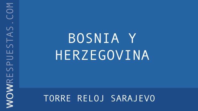 WOW Torre Reloj Sarajevo